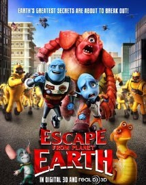 movie passes to escape from planet earth all weekend