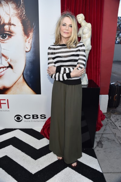 """LOS ANGELES, CA - JULY 16:  Actress Peggy Lipton arrives to The American Film Institute Presents """"Twin Peaks-The Entire Mystery"""" Blu-Ray/DVD Release Screening at the Vista Theatre on July 16, 2014 in Los Angeles, California.  (Photo by Alberto E. Rodriguez/Getty Images)"""