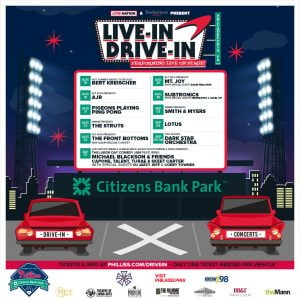 Live-In Drive-In Schedule