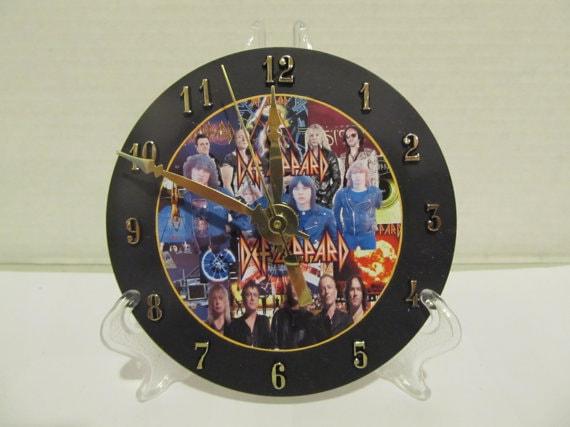 def leppard clock